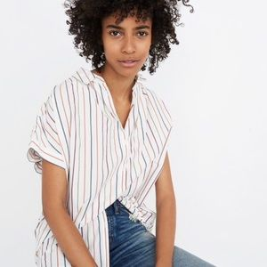 Madewell Central Shirt in Sadie Stripe